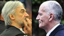 Combo, il pm di Genova Enrico Zucca e il capo della polizia Franco Grabrielli