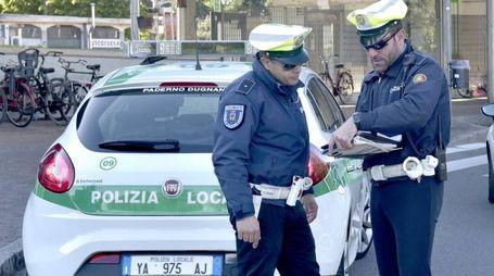La Polizia locale di Paderno