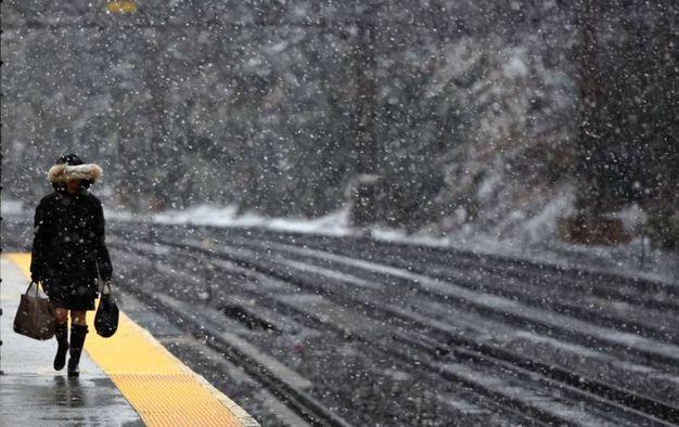 Connecticut, si aspetta il treno come in Siberia (Lapresse)