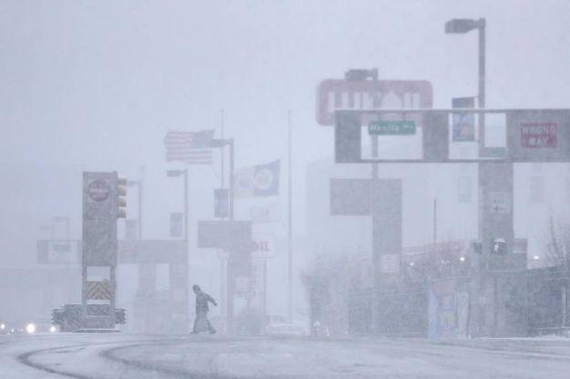 L'ingresso fantasma dell'autostrada a Jersey City (Ansa)
