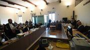 L'aula della corte di Assise (FotoSchicchi)