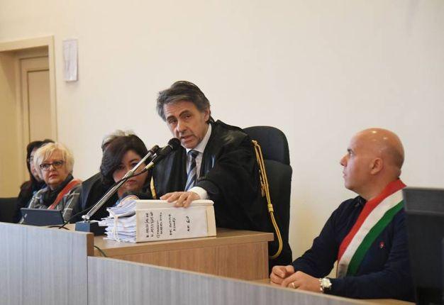 Il presidente della Corte Michele Leoni (FotoSchicchi)