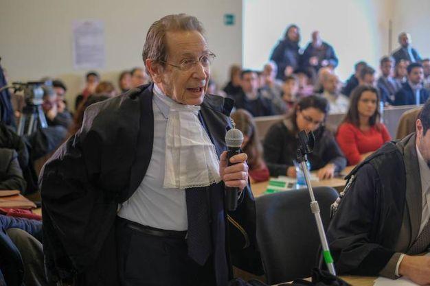 Armando D'Apote avvocato di Rfi, parte civile nel processo (FotoSchicchi)