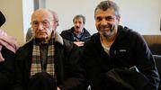 Romano Montanari e Paolo Lambertini, familiari di alcune delle vittime (FotoSchicchi)