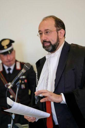 Andrea Speranzoni, legale di parte civile (FotoSchicchi)