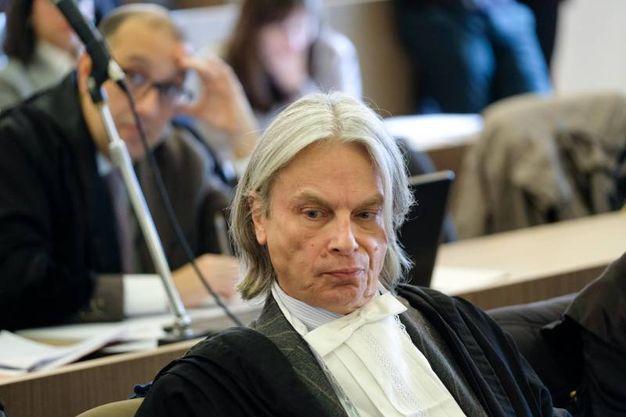 Alessandro Pellegrini, avvocato difensore di Gilberto Cavallini (FotoSchicchi)