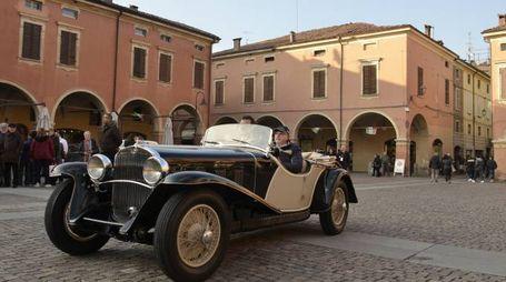 Un successo il Concours d'Elégance Trofeo Salvarola Terme(foto Enzo Giovanelli)