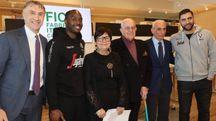 Virtus e Fico, la presentazione della partnership (FotoSchicchi)
