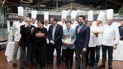 In giuria anche i pasticceri Gino  Fabbri e Santi Palazzolo e l'ad di Fico Tiziana Primori (FotoSchicchi)