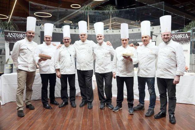 Anche Gino Fabbri tra i pasticcieri in giuria (FotoSchicchi)