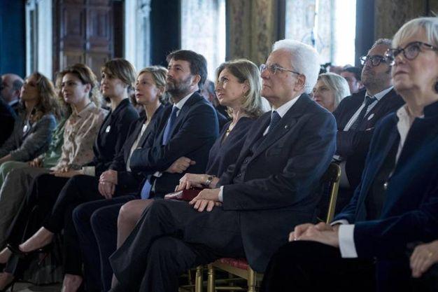 Anche il ministro Franceschini alla presentazione dei candidati (Ansa)