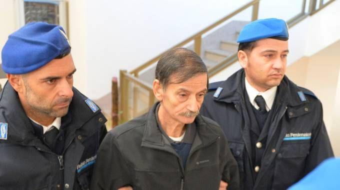 Vito Clericò durante un'udienza in aula