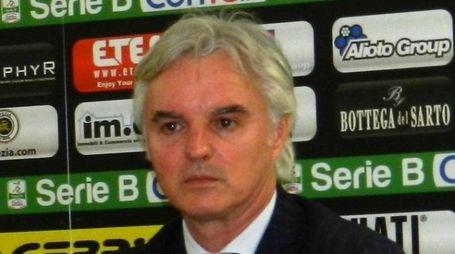 Il presidente dello Spezia Stefano Chisoli