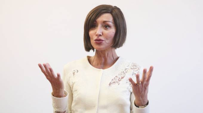 La senatrice bolognese Anna Maria Bernini (foto Ravaglia)