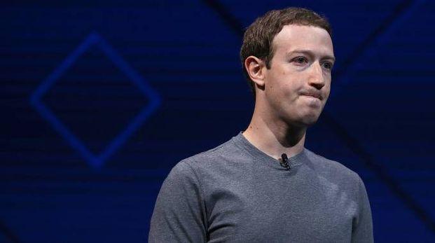 Mark Zuckerberg, fondatore e ceo di Facebook (Afp)