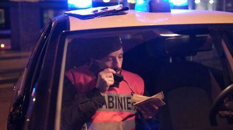 Sono intervenuti i carabinieri