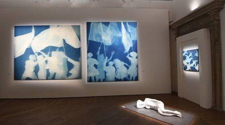 Zhang Dali, la mostra a Palazzo Fava a Bologna (FotoSchicchi)