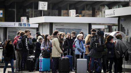 Roma nel caos per lo sciopero del trasporto pubblico (Ansa)