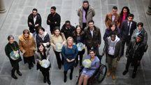Il gruppo (foto Gianluca Moggi/New Pressphoto)