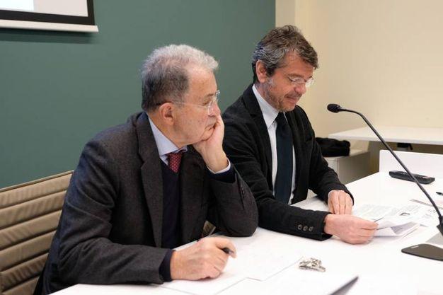 Prodi e Segrè (FotoSchicchi)