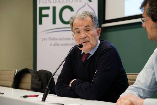 L'intervento di Romano Prodi (FotoSchicchi)