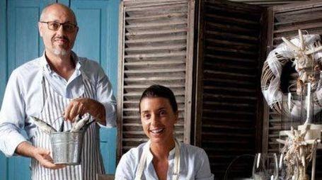 Giorgio Andrea Ricci e la figlia