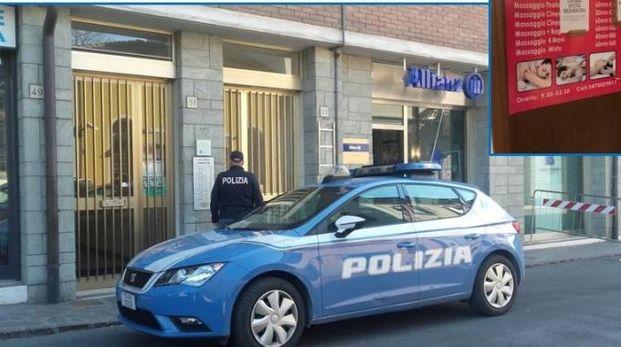Il centro massaggi era in pieno centro a Mirandola, i locali sono stati sequestrati