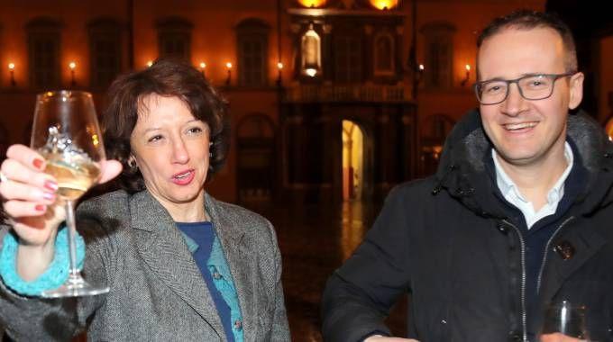 Manuela Sangiorgi e Patrik Cavina