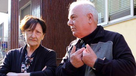 Adriana Feletti e Rocco Papalia: lui si trova in libertà vigilata