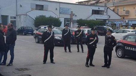 La compagnia dei carabinieri di Giulianova ha fatto battute di ricerche nella parte alta della città ma senza esito