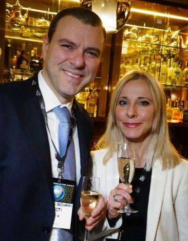 Alberto Giovanni  e Lucia Aleotti  (Gianluca Moggi / New Press Photo)