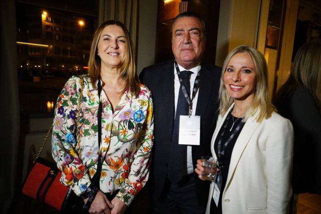 Raffaella Santilli, Francesco Carrarssi, Lucia Aleotti (Gianluca Moggi / New Press Photo)