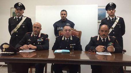 La conferenza stampa di ottobre dei carabinieri