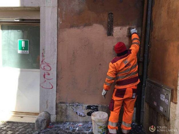 Il murales cancellato (Dire)