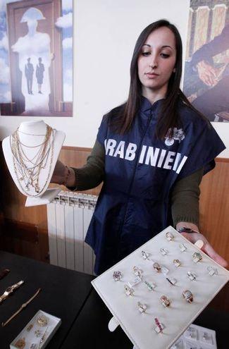La refurtiva (Foto Lazzeroni)