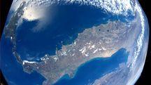 L'Italia fotografata dalla Stazione spaziale internazionale