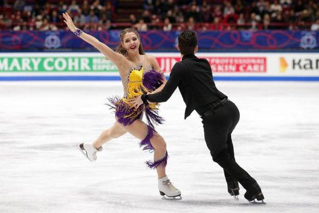Alexandra Nazarova e Maxim Nikitin