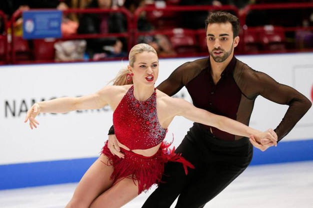 Olivia Smart e Adrian Diaz