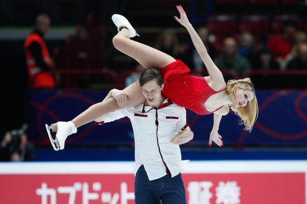 Viktoria Kavaliova e Yurii Bieliaiev
