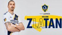 Zlatan Ibrahimovic con la maglia dei L.A. Galaxy (da twitter)
