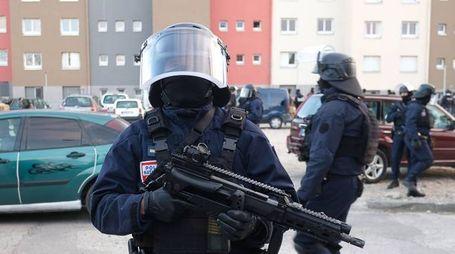 Un agente del BRI (Research and Intervention Brigade) (Lapresse)