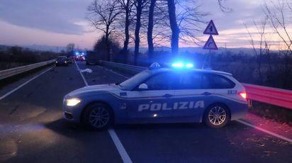 L'incidente mortale (foto Frasca)