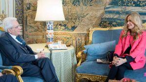 Sergio Mattarella e Nicoletta Spagnoli