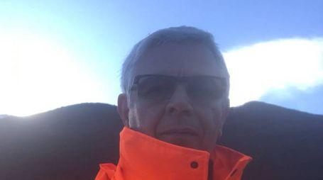 Rocco Petrucci, direttore del cantiere a Rigopiano