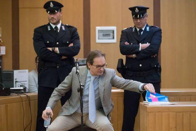 Matteo Cagnoni in aula (foto Zani)