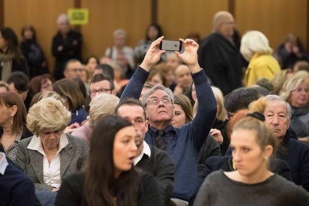 E folto anche il pubblico (foto Zani)
