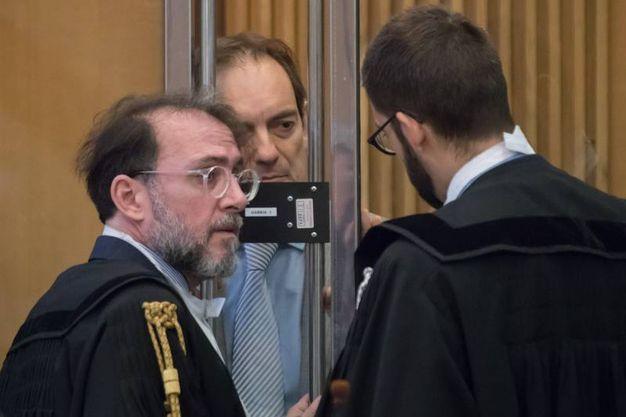 Cagnoni è stato interrogato dai pm (foto Zani)