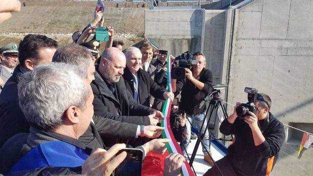 Il presidente Bonaccini all'inaugurazione