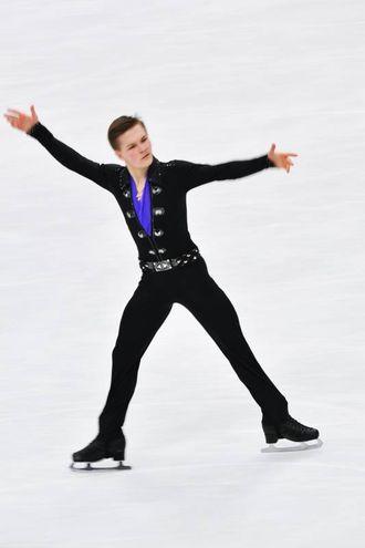 Mikhail Kolyada, medaglia di bronzo (foto Lapresse)