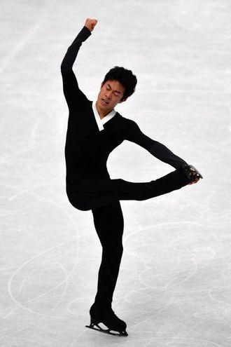Nathan Chen, medaglia d'oro (foto Lapresse)